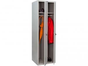 Шкаф металлический для одежды ПРАКТИК LS(LE)-21