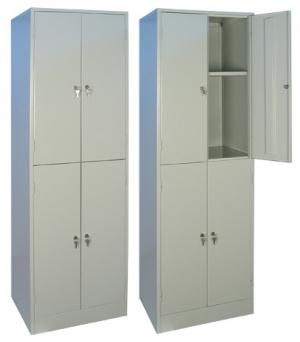 Шкаф металлический архивный ШРМ - 24.0
